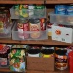 Make sure any shelving is sturdy; your jars of food won't help anybody when they have smashed everywhere due to a flimsy shelf or a cheap, collapsed bookcase.